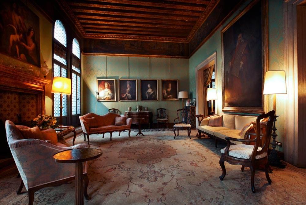 Salotto Del Te.Salotto Del Doge Grand Canal Palazzetto Pisani Venice